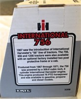 International Farmall 756 Toy Tractor (view 2)
