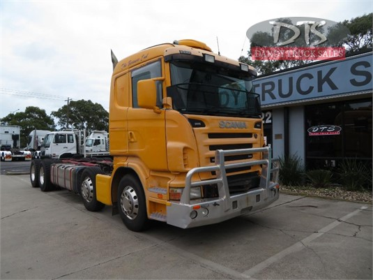 2008 Scania R560 Dandy Truck Sales - Trucks for Sale