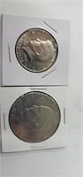 1976 D Bicentennial  Eisenhower Dollar, 1976