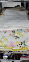 6 Bed Sheets & 2 Pillow Cases, Ladies Med.