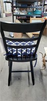 4 Hitchcock Chairs W/ Pads