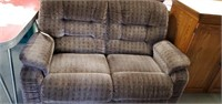 Upholstered Recliner Love Seat