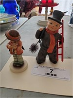 2 Hummel Figurines