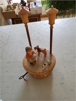 Wooden Music Box From Switzerland