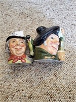 2 Toby Mugs Royal Doulton ( Tam O' Shanter, The Wa