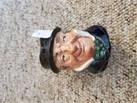 2 Toby Mugs Royal Doulton ( Captain Cuttle, Sairey