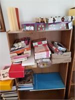 Book Shelf & Contents