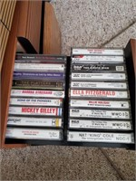 3 Cassette Cases & Contents