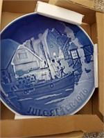 Box Of Decorative Plates