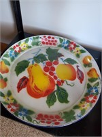 """Porcelain Top Stand Approx. 2' X 20"""" X 30"""" - Fruit"""
