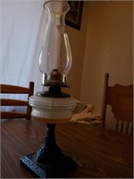 Oil Lamp Been Electrified
