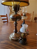 Brass Lamp (1 Large & 1 Small)