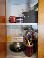 Contents Of Cabinet ( Far Left )