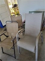 5 Assorted Patio Chairs
