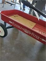 Flexible Flyer Red Wagon