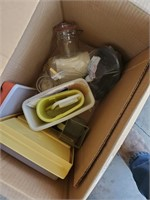 2 Boxes Of Tupperware
