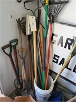 Lot Of Yard And Garden Tools