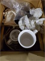 4 Boxes Of Glassware