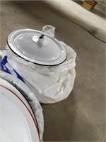 Lot Of Porcelain Pans