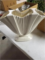 Punch Bowl & Haeger Vase