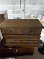 2 Jewelry Boxes, Tea Cups, Saucers & Dessert Plate