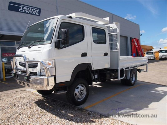 2020 Fuso Canter 4x4 Crew Cab - Trucks for Sale