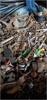 3 Boxrs Of Hand Saws, Circular  Saw,  Nails,
