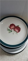 2 Boxes Of Holiday Flags, Decorative Plates,