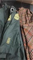 Vintage Uniform And Lady Clothing