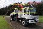 2007 Isuzu FVD 950 Crane Truck