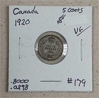 April 18th. Online-only Silver Auction