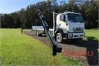 2020 Isuzu FYJ 300-350 Auto Xlwb Crane Truck