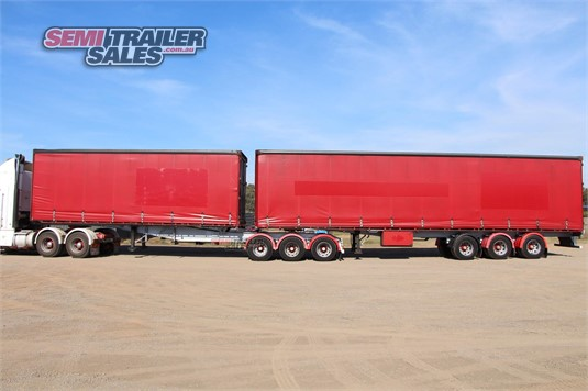 2000 Barker Curtainsider Trailer Semi Trailer Sales - Trailers for Sale