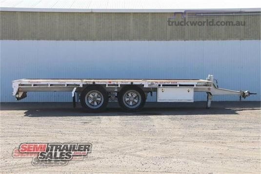 2009 Krueger Flat Top Trailer - Trailers for Sale