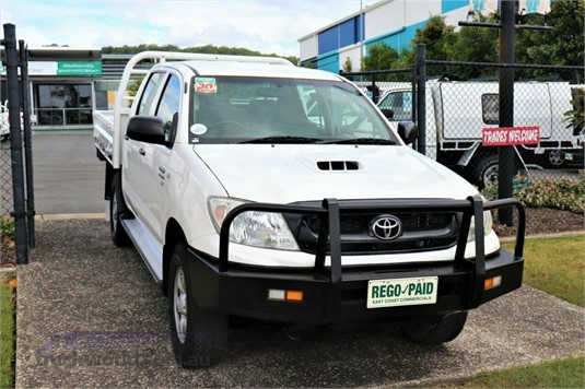 2010 Toyota Hilux Kun26r My10 Sr - Light Commercial for Sale