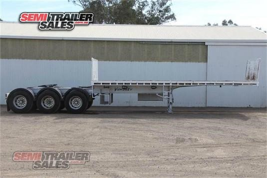 2010 Vawdrey Flat Top Trailer Semi Trailer Sales - Trailers for Sale