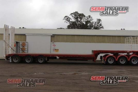2011 Barker Drop Deck Trailer Semi Trailer Sales - Trailers for Sale