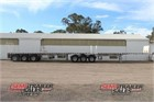 2010 Vawdrey Flat Top Trailer B/D Combination Flat Top Trailers