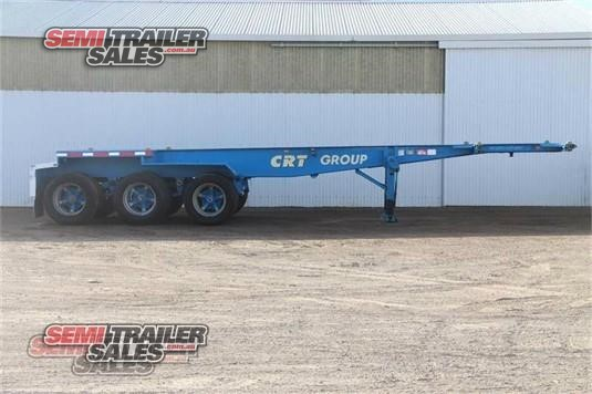1992 Barker Skeletal Trailer Semi Trailer Sales - Trailers for Sale