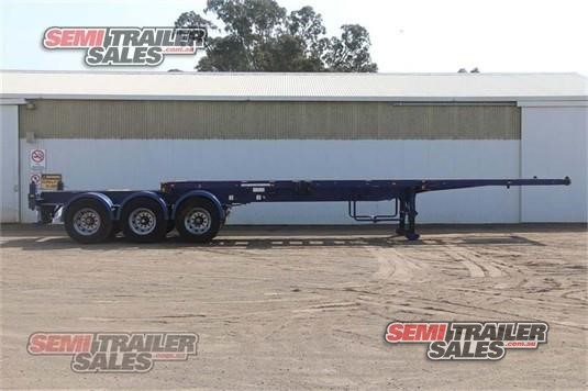 2006 Tht Skeletal Trailer Semi Trailer Sales - Trailers for Sale