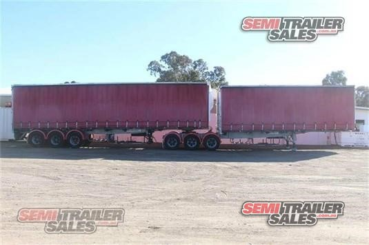 1994 Afm Curtain Sider Trailer Semi Trailer Sales - Trailers for Sale
