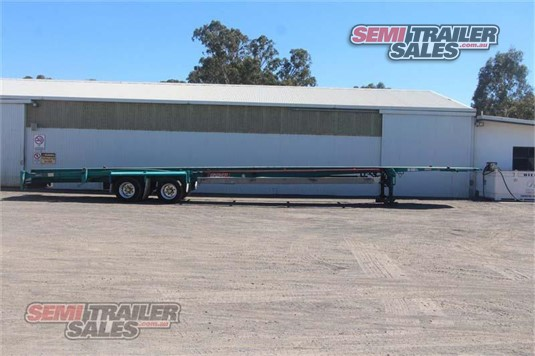 2004 Barker Skeletal Trailer Semi Trailer Sales - Trailers for Sale