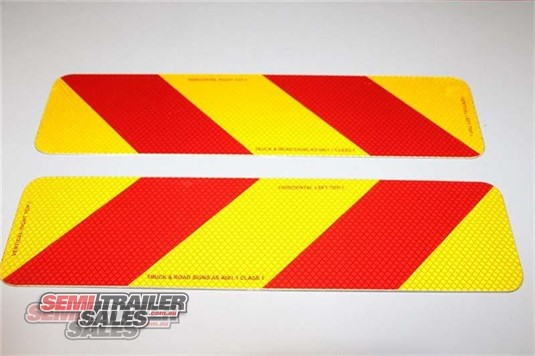 Semi Trailer Sales Rear Marker Signs Semi Trailer Sales - Parts & Accessories for Sale