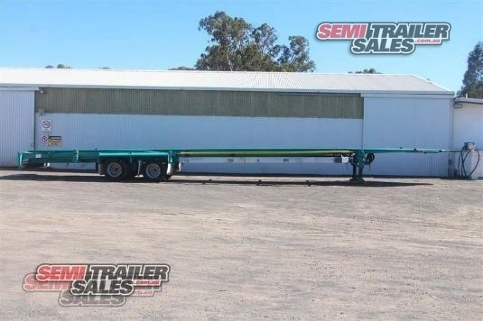 2006 Barker Skeletal Trailer Semi Trailer Sales - Trailers for Sale