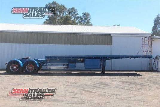 1999 Freighter Flat Top Trailer Semi Trailer Sales - Trailers for Sale