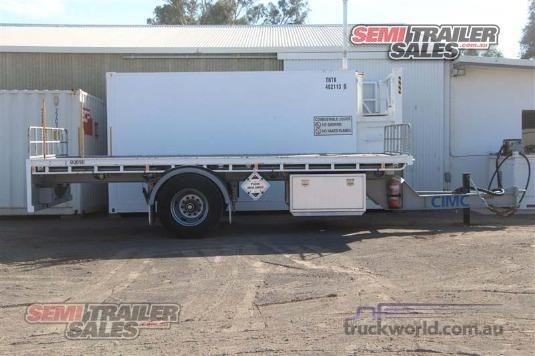 2011 Cimc Flat Top Trailer - Trailers for Sale