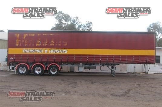1999 Krueger Curtainsider Trailer Semi Trailer Sales - Trailers for Sale