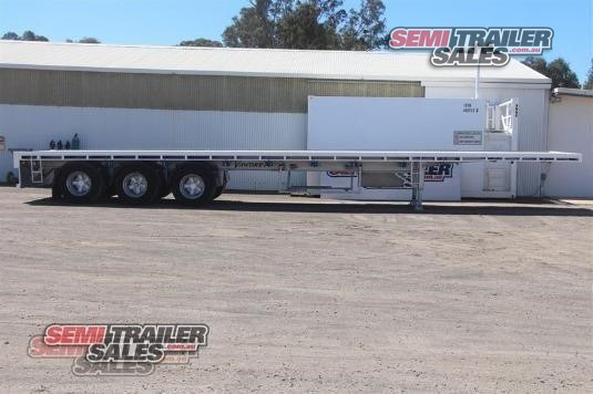 2005 Vawdrey Flat Top Trailer Semi Trailer Sales - Trailers for Sale