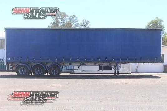 2002 Vawdrey Curtainsider Trailer Semi Trailer Sales - Trailers for Sale