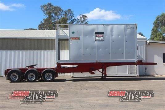 2001 Barker Skeletal Trailer Semi Trailer Sales - Trailers for Sale